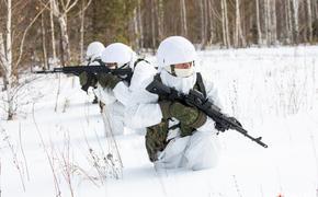 Разведчики армейского спецназа ВВО в Забайкалье отрабатывают свои специфические задачи в поле