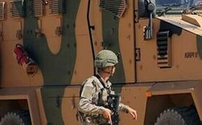 Турецкий наблюдательный пост в Сирии подвергся обстрелу, один солдат ранен
