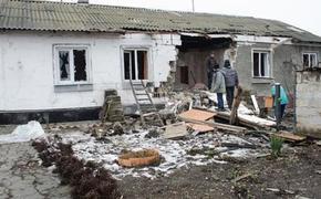 Украинская армия обстреляла район села Петровское
