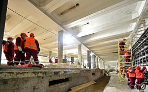 Собянин осмотрел ход комплексной реконструкции станции метро «Каховская»