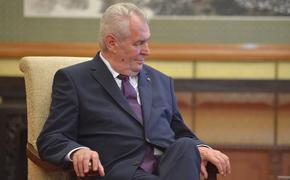 Земан призвал не делать из Навального мученика