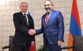 Пашинян позвонил Путину. Президент РФ высказался за сохранение спокойствия в Армении