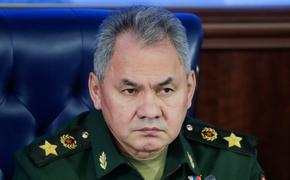 Сергей Шойгу провел переговоры с министром обороны Армении