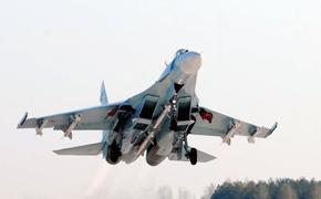 Российский Су-27 поднимался в воздух для перехвата двух бомбардировщиков ВВС США над Балтикой