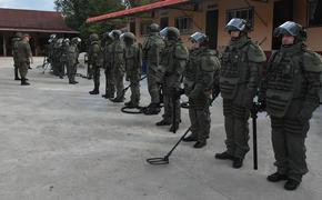 Российские саперы обезвредили более 800 взрывоопасных предметов в Лаосе
