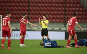 Сборная Словакии побеждает Россию 2:1