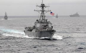 Два боевых корабля ВМС США войдут в Чёрное море через неделю, возможно, из-за событий в Донбассе