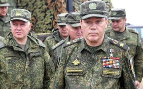 Герасимов проверил организацию боевой подготовки в Приморье