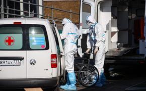 В России за сутки скончались 402 пациента с COVID-19