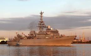 Российский разведывательный корабль зашёл в Порт-Судан