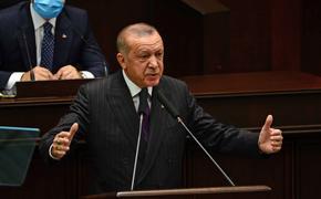 Президент Турции выступил за мирное урегулирование споров между РФ и Украиной