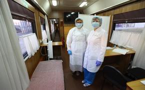 В Магнитогорск прибыл «Поезд здоровья»