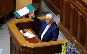 Кравчук пояснил свое высказывание о применении оружия в случае нападения на него людей с российскими флагами