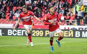 «Спартак» побеждает ЦСКА - 1:0