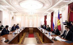 Вениамин Кондратьев и Андрей Уманский обсудили развитие кубанских курортов