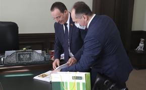 Председатель ЗСК провел встречу с новым директором филиала «Россельхозбанка»