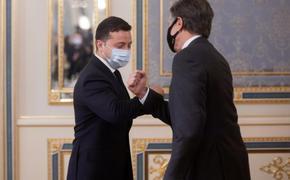 Зеленский и Блинкен обсудили какие-то совместные действия в Черноморском и Азовском регионах