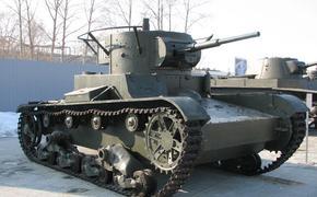 Видео, как в Уфе во время репетиции парада Победы загорелся танк
