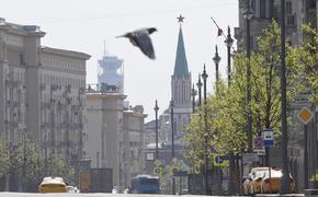 Вторник станет самым теплым днем в Москве с начала мая