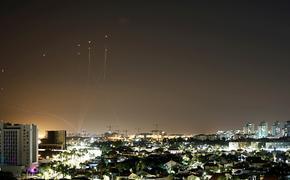 Видео: Израиль подвергся массированному ракетному обстрелу