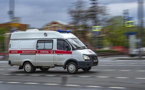 Автомобиль перевернулся в результате ДТП на Кутузовском проспекте