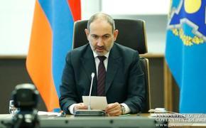 Пашинян обратился в ОДКБ в связи с агрессией Азербайджана