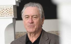77-летний актер Роберт де Ниро травмировал ногу во время съемок нового фильма