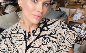 Известная модель Лена Перминова родила четвёртого ребёнка