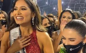 Опубликовано видео с церемонии награждения «Мисс Вселенная – 2021»