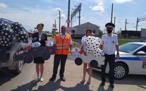 Волгоградским водителям напомнили о правилах пересечения жд переездов