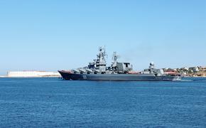 Силы и средства Черноморского флота РФ контролируют действия иностранных эсминца и фрегата в Черном море