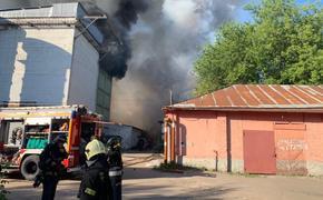Бирюков сообщил о троих пострадавших пожарных и одном сотруднике склада при пожаре в Москве