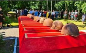 В Московской области перезахоронили останки солдат РККА, погибших в битве за Москву