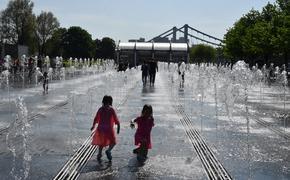 В Москве температура воздуха достигла абсолютного максимума для 23 июня – плюс 34,7 градуса