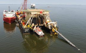 «Фортуна» постепенно ускоряется на укладке нитки «А» газопровода «Северный поток 2»