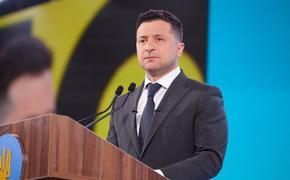 Зеленский заявил, что вопрос строительства «СП–2» следует обсуждать в «нормандском» формате