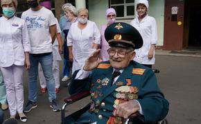 102-летнего участника Великой Отечественной выписали из больницы после перенесённого КОВИДа