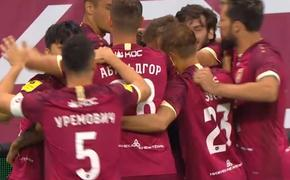 «Рубин» вырвал победу у «Спартака» 1:0