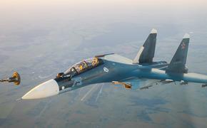 Портал Avia.pro: российский истребитель Су-30СМ устроил перехват американскому F-18 в небе над Сирией