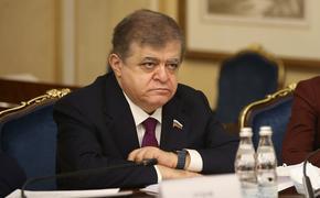 Сенатор Джабаров назвал провокационным заявление экс-замминистра Украины Грымчака об «освобождении» Донбасса