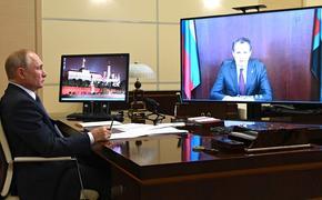 Владимир Путин: «Ваш регион демонстрирует хорошие темпы»: о чем говорили Президент и глава Белгородской области