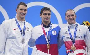 Американский пловец Мерфи заподозрил россиянина Рылова в допинге, но затем отказался от своих слов