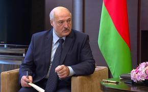 Лукашенко заявил, что НАТО наращивает инфраструктуру у границ Белоруссии