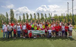 Особенные дети провели флешмоб в честь челябинских участников паралимпийских игр