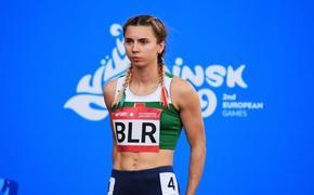Власти Польши дали гуманитарную визу белорусской бегунье Кристине Тимановской