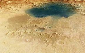 Появилась новая версия о природе подземных озер на Марсе