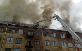Пожар вспыхнул в четырехэтажном жилом доме во Владимирской области
