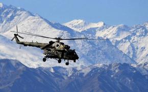 Вертолёт со спасателями на борту разбился в горах Таджикистана недалеко от афганской границы