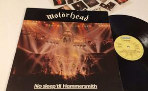 «No Sleep 'Til Hammersmith» - 40 лет знаменитому концертному альбому Motörhead