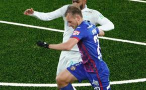 «Зенит» в трудной борьбе победил ЦСКА 1:0